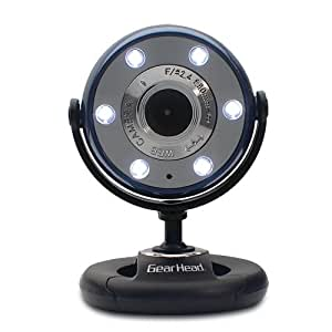Quick 5.0 MP WebCam with 720P HD Video (Blue)