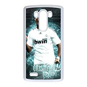 LG G3 Cell Phone Case White Cristiano Ronaldo XYJ DIY Personalized Cell Phone Case