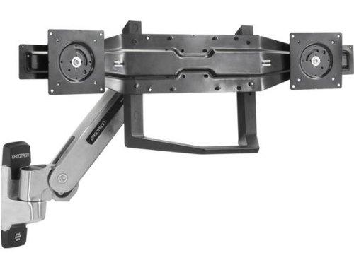 Ergotron Dual Monitor & Handle Kit - Mounting Kit