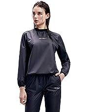 HOTSUIT Sauna Sportpak Dames Saunapakken Zweetpak Afslanken Fitness Sportshirt Trainingsbroek