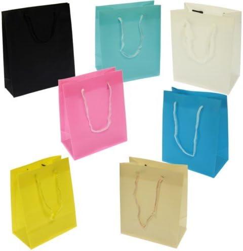 Pack 48 Bolsas Regalo 14x11,50x6,5 cm Colores Surtidos - Tamaño XS ...