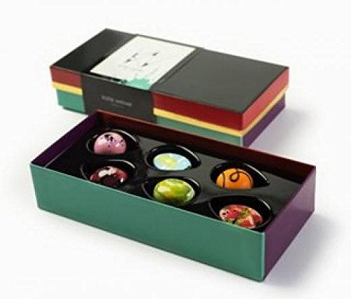 Kate Weiser Chocolate Artist Collection (6 pc box Artist Collection) (Weiser Collection)