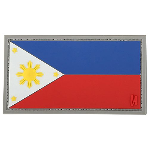 (Maxpedition Philippines Flag Patch, Color)