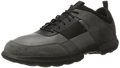 Anthracite Zapatillas Gris Geox U743RB08522 Hombre Black xIqngZv