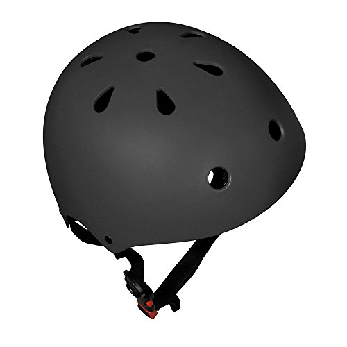 Bmx Bicycle Helmets (Glaf Adjustable Kids Helmet CPSC Certified Impact Resistance Ventilation for Multi-Sports, Cycling Skateboarding Bike BMX Scooter Toddler Helmet (Black, Small))