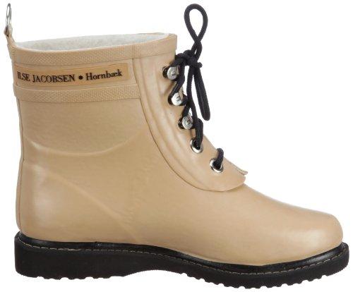 pluie Ilse 342 Jacobsen b2 beige femme Tr de Beige RUB2 Bottes Short Rubberboot YTFBYp