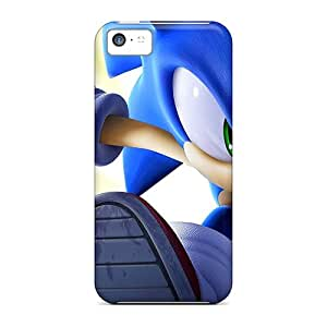 AshtonWells Apple Iphone 5c Great Cell-phone Hard Covers Customized Attractive Sonic The Hedgehog Running Skin [OTj17068dpJB]