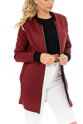 Manches Occasionnelle Tenue Vin Extrieur Le Mode De De La d'automne Manteau des Avez Vestes La Longues qEzzvwF