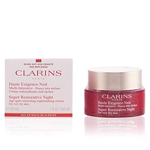 Clarins Women's Super Restorative Night Cream, Very Dry Skin, 1.6 ()