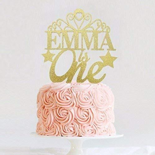 Wondrous Princess Cake Topper Personalized Tiara Cake Topper Birthday Birthday Cards Printable Benkemecafe Filternl