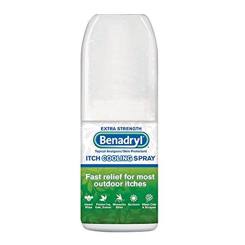 Benadryl Extra Strength Itch Cooling Spray 2 Oz (pack of 3) - Benadryl Itch Spray