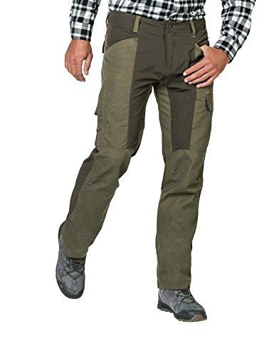 Jack Wolfskin Men's Dawson Flex Pants, Woodland Green, 98 (US 33/34)