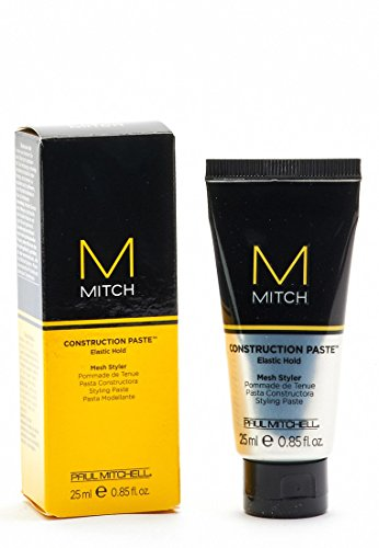 Paul Mitchell Mitch Construction Paste Elastic Hold Mesh Hair Styler for Men, 0.85 (Elastic Styler)