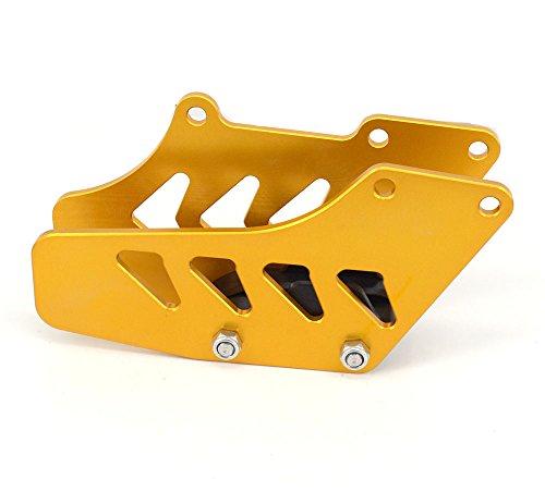 CNC Rear Aluminum Chain Guide Guard For Suzuki RM125 99-07 RM250 99-08 RMZ250 07-16 RMZ450 05-16 RMX450Z 10-15 DRZ400S DRZ400R DRZ400SM 00-15