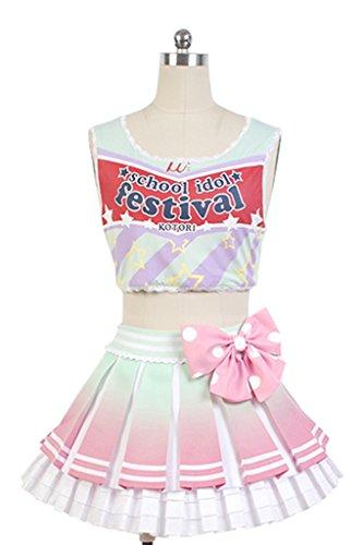 Zelda Midna Costume (UU-Style LoveLive! Minami Kotori Cheerleaders Uniform Cosplay Costume)