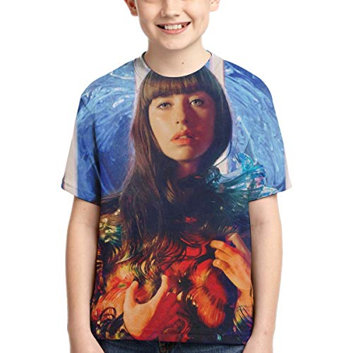 BowersJ Childs The Used Design 3D Printed Short Sleeve T Shirts for Girls /& Boys Black