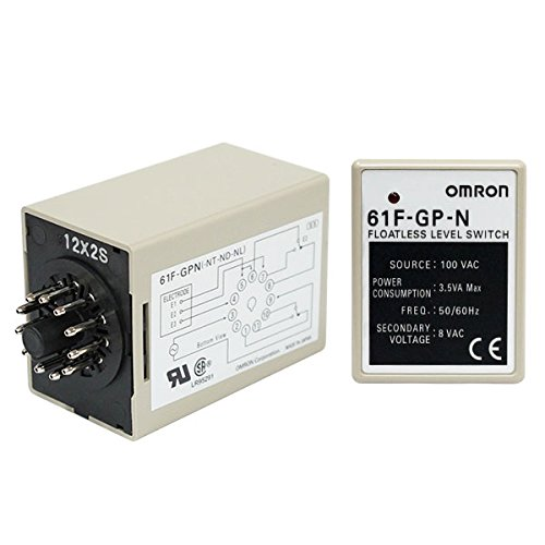 OMRON 61F-GP-N AC200V Floatless Level Switch (Compact, Plug In Type)(11 pins)(General Purpose)NN