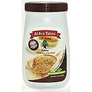 Al Arz Tahini, Whole Sesame, 16 Ounces