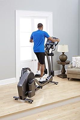 Life Fitness E5 Go Cross-Trainer, Titanium
