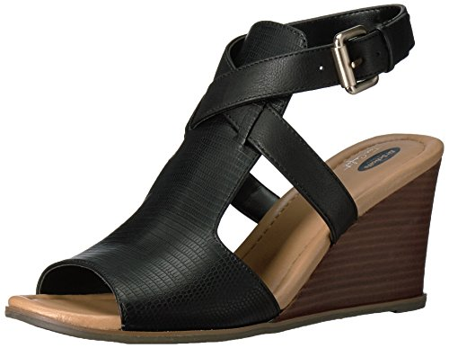 Dr. Scholls Women's Celine Platform Dress Sandal,Black La...