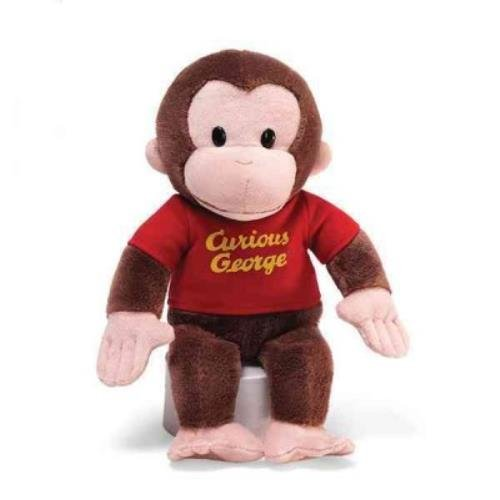 Gund Curious George Stuffed Animal, 12 inches