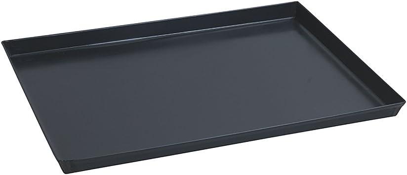 Eisen Paderno Rechteckiges Pizzablech blau 30x23 cm