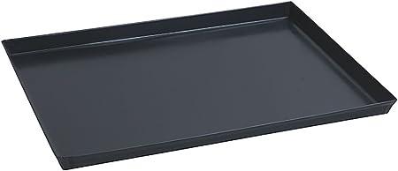 Stampo da forno antiaderente /& 18323-00 Pinza per Teglie in acciaio inossidabile Pinza prendi teglie con manico antiscivolo in polipropilene Paderno 41745-40 Teglia Rettangolare in ferro blu