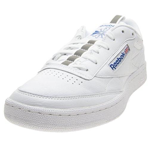 Reebok Herren Club C 85 Weiß Sneaker Weiß (White)