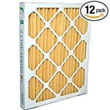 "Santa Fe Advance 2/Ultra-Aire 98H/Honeywell DR90 or DR120 Dehumidifier MERV 11 Filter 14 x 17.5 x 2"" (4035319) Case of 12"