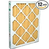 Santa Fe Advance 2/Ultra-Aire 98H/Honeywell DR90 or DR120 Dehumidifier MERV 11 Filter 14 x 17.5 x 2'' (4035319) Case of 12