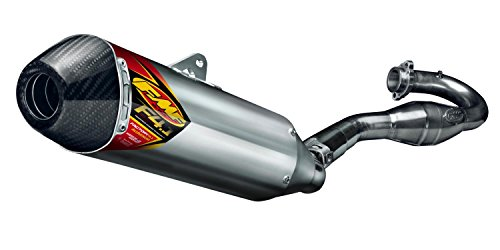 FMF 14-18 Yamaha YZ250F Factory 4.1 RCT Complete Exhaust with Stainless Megabomb Header (Aluminum with Carbon Fiber End Cap) ()