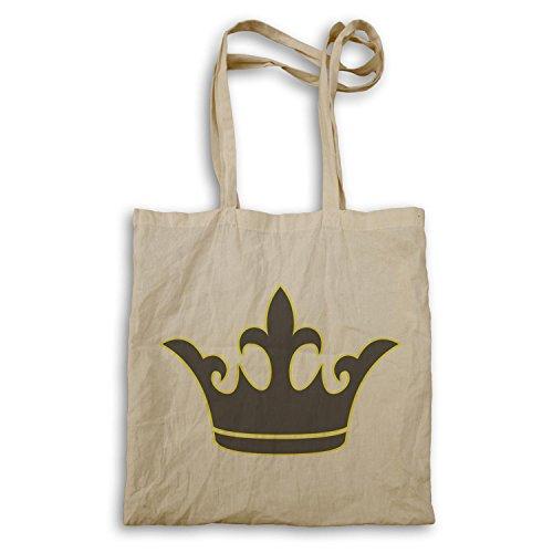 Krone König Queen Art lustige Neuheit Tragetasche a602r