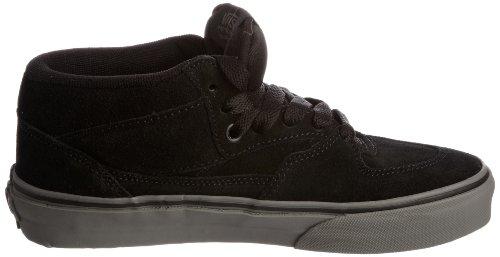 Grey charcoal Nero Da Scarpe Adulto suede Skateboard U Unisex Vans Black Half Cab xgSw7P