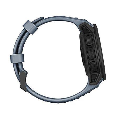 huangThroStore 22 mm Crimson Cinturino di Ricambio per Orologio Sportivo Garmin Instinct in Morbido Silicone