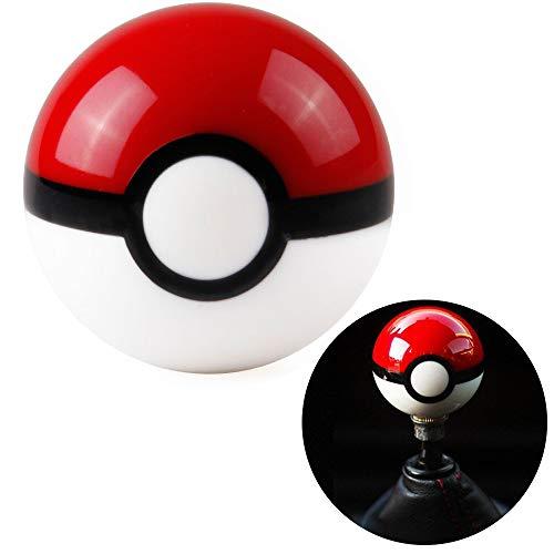 Kei Project Pokemon Pokeball Round Shift Knob Available in 8x1.25 10x1.25 10x1.50 12x1.25 (10x1.25)