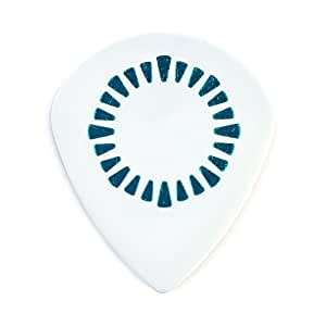 Dunlop AALP03 Animals As Leaders Tosin Abasi Tortex Jazz III XL, .60mm, White, 6/Player's Pack