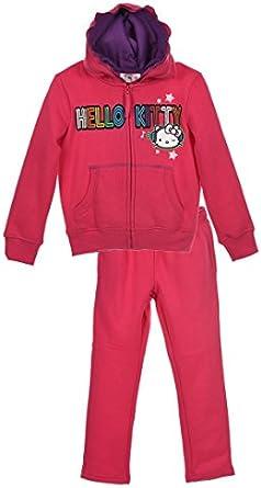Sanrio Hello Kitty - Chándal - para niña Rosa fucsia 3 Años (2-3 ...