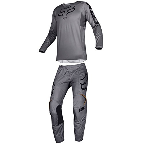 Fox Racing 2019 180 PRZM Jersey and Pants Combo Offroad Gear Set Adult Mens Stone XL Jersey/Pants 36W