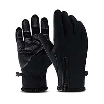 Amazon.com : Suxman Cycling Gloves, Winter Waterproof Full