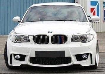 M-Tech Kühlergrill Abdeckung Streifen Nieren Für BMW E81 E82 E87 E88 2004–2011