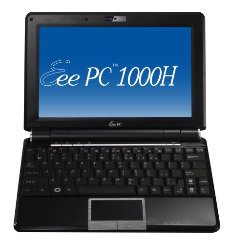 ASUS Eee PC 1000H 10-Inch Netbook (1.6 GHz Intel Atom Processor, 1 GB RAM, 160 GB Hard Drive, XP Home, 6 Cell Battery) Fine (Asus Mobile Pc Eee Pc)