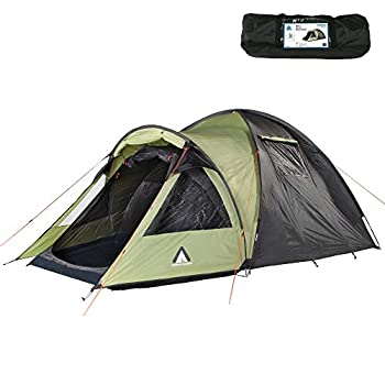 Image of 10T Outdoor Equipment Glenhill 4 Beech Nut Tent, Green, 410 x 270 x 165 cm Tents