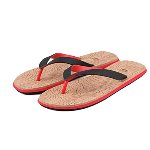 Infradito Uomo Flip Infradito Adulto Flat Infradito Flip Flops Ciabatte da Spiaggia Toe Sandali 2SOxXU