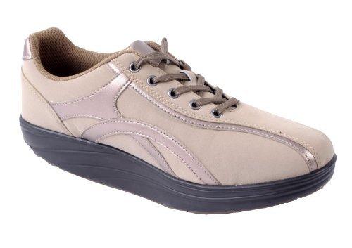 Aktiv Outdoor Schuhe Gr. 39 Fitnesschuhe Sneaker Gesundheitsschuhe beige