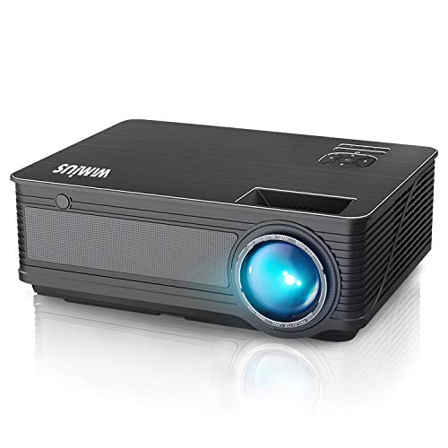 Projector, WiMiUS P18 Upgraded 4200 Lumens LED Projector Support 1080P 200