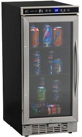 built in beverage refrigerator. Avanti BCA-1501SS Built In Beverage Cooler, 15\u0026quot;, Refrigerator U