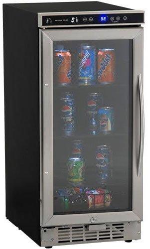 Avanti Automatic Refrigerator - Avanti BCA-1501SS Built in Beverage Cooler, 15