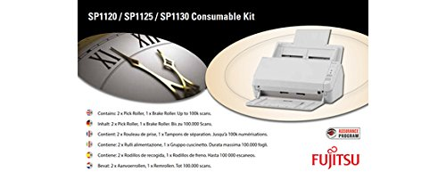 Fujitsu con-3708 –  001 A Scanner-Kit Verbrauchsmaterialien Ersatzteil fü r Erstausrü ster Kunstdruck –  Ersatzteile fü r Erstausrü ster Kunstdruck (Fujitsu, Scanner, sp-1120, sp-1125, sp-1130,-