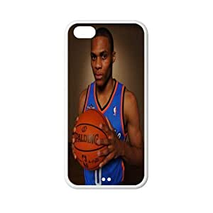 Number 0 Russell Westbrook plastic hard case skin cover for iPhone 5C AB686187