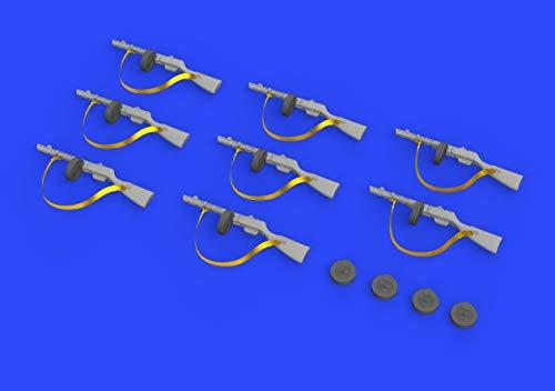1:35-PPsh-41 Submachine Gun Model Kit Brassin, Various - Eduard EDB635011